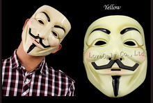 High quality Fawkes Maske V wie Guy Fawkes Vendetta Mask Halloween Cosplay party mask V Vendetta Anonymous