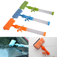 Window Glass Cleaner Microfiber Wiper Scraper Brush Sprayer Cleaning Tools Cloth Car Wash Brushes Auto Maintenance(China)