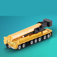 Free Shipping/Siku 1623 Toy/Diecast Metal Model/Heavy Mega Lifter Crane Truck Car/Educational Collection/Gift/Children/Small