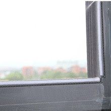 DIY Adhesive Anti-Mosquito Fly Bug Insect Curtain Mesh Window Screen Home Supplies Easy to fit remove enjoy fresh cooler air