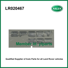 Free shipping LR020467 rear brand letter sticker for LR Range Rover Sport 10-13 car brand name plate aftermarket parts wholesale