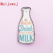 Meijswxj Vintage Home Decor Milk bottle LED Neon Sign Shabby chic Brass knuckles weapon Bar Cafe Restaurant wall hangings signs