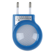 Blue LED Sensor Night Lamp with 0.7W Low Power Plug(China)
