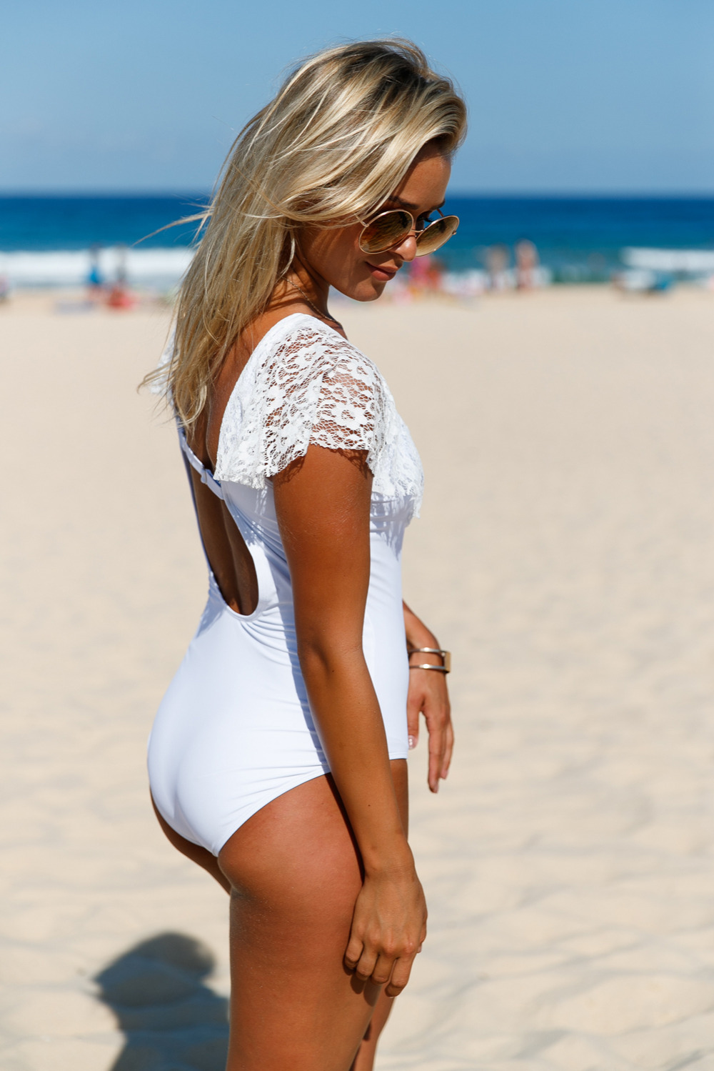 White-Lace-Ruffle-Cap-Sleeve-One-Piece-Swimsuit-LC410212-1-2