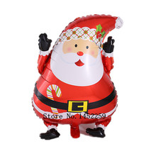 XXPWJ Free shipping wholesale aluminum balloons balloon wedding balloon decoration Christmas party balloon - Santa Claus  V-002