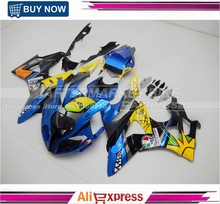 Aftermarket OEM Fitting Bodywork For BMW S1000RR ROSSI VR46 Design 2009-2014 ABS Plastic Motorcycle Fairing Kit Replacement