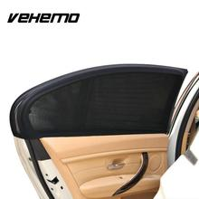 Buy Vehemo 2Pcs Car Window Cover Sunshade Mesh Curtain sun shade UV Protection Visor Solar Mosquito Dust Car-covers for $4.75 in AliExpress store