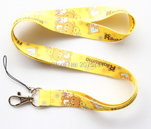 Free shipping 10Pcs /Wholesale Japanese anime Necklace Strap Lanyards Cell Phone PDA Key ID Strap Charm H-132