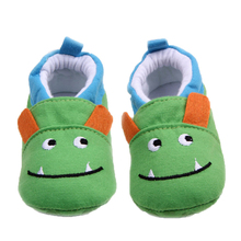Brand Baby Boy Shoes Cute Monster Cartoon Animal Newborn First Walkers Infant Prewalker Toddler Footwear Child Slippers for Kids