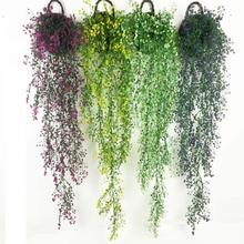1pc Artificial Wisteria Vine Flowers DIY Party Supplies Home Garden Ornaments Wedding Decoration Accessories A35