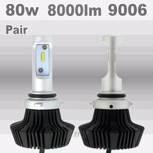2X FOR Philips 80W 8000LM 9006 HB4 H1 H3 H7 H11 9005 880/881 Plug LED Headlight Kit Low Beam Bulbs Bulb 6000K auto led headlight