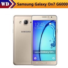 Original Unlocked Samsung Galaxy On7 G6000 Mobile Phone Quad Core 5.5''13MP 4G LTE Android phone 1280x720 Dual SIM Smartphone(China)
