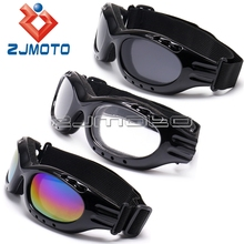 New Snowboard Dustproof Sunglasses Motorcycle Ski Eye Glasses Lens Frame Biker Goggles