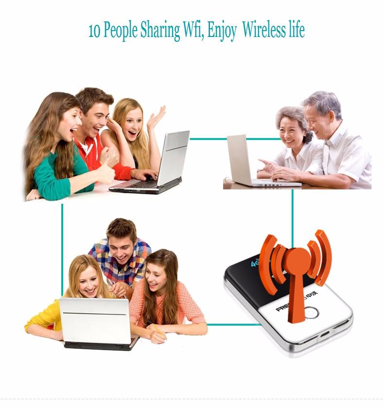 Kaasaskantav juhmevaba WiFi ruuter