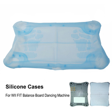 Blue New Silicone Skin Cases For WII FIT Balance Board Dancing Machine(China)