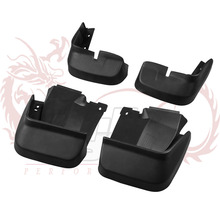 4pcs Molded Mud Flaps Mudflaps Splash Guards Front Rear Mud Flap Mudguards Fender For Honda Civic 2006-2011(China)