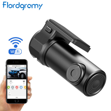 Flordgramy Mini Wireless Hidden Car Dash Cam DVR APP Monitor WiFi Car Camera Video Recorder Dashcam Night  Vision Registrar