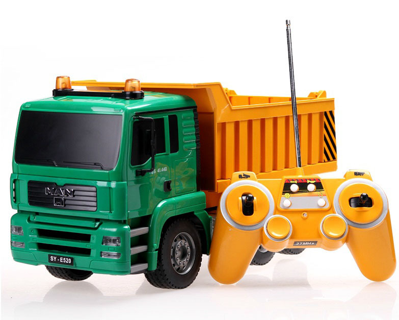 Larger 50cm Dumper Truck High Simulation RC Truck Project Tilting Cart Engineering Truck Electronic toys
