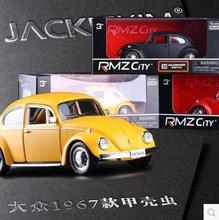 New 1967 Volkswagen Beetle VW 5-inch model car Toy Matte  Boxed pull back kids gift Vintage cars Classic Car RMZ CITY
