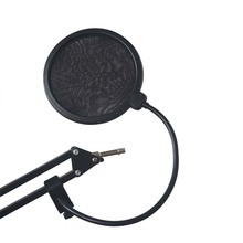 YALI Microphone Wind Screen Pop Filter Mask Shield Flexible Professional Condenser Microphone Mic BOP Cover for Broadcast Record
