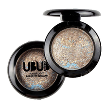 UBUB 2017 Long-lasting Single Baked Eye Shadow Powder Palette Shimmer Metallic Eyeshadow Palette Natural Cosmetics Maquiagem