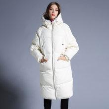 9efee67bf869 Новая зимняя Европейская Женская куртка-пуховик, теплая одежда для  беременных, куртка-пуховик для беременных, зимняя женская кур.