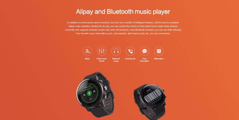 ORIGINAL XIAOMI HUAMI AMAZFIT STRATOS SMART SPORTS WATCH 2 VERSION 2 8