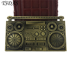 Luxury Men Metal Belt Buckles Music Magnetic Brass Tape Mens Designer Belt Buckles New Year Gifts Free Shipping(China)