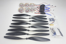 Y05307-D 40A Brushless ESC + 350KV Brushless Motor 14x4.7 3K CF Propeller CW CCW 1447 ESC Connection Board XT60 T Plug