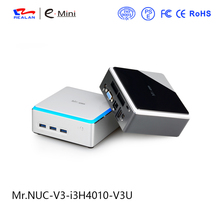8G DDR3L RAM 1TB HDD windows 10 Mini PC Intel quad core 4K HD HTPC TV Box supporting Android and Linux DHL Free Shipping(China)