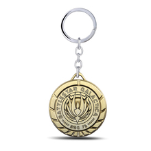 MS JEWELS Movie and Game Battlestar Galactica Keychain Metal Key Rings For Gift Chaveiro Key Chain Jewelry