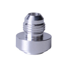 AN6 Male Aluminium Weld Adapter Bung Nitrous Hose Fitting Tank Cell Silver Nitrous Car Performance Fittings(China)