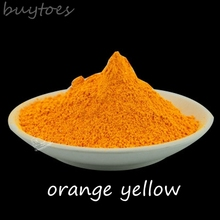 orange yellow Color Neon Fluorescent Powder for nails ,DIY soap ,Phosphor Pigment Powder not glow in dark Luminous powder,