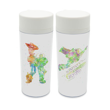 Personalized Cartoon  BPA Free Plastic Insulated Original Watercolor Toy Story Friendship Movie Kids Water Bottle 300ml Gifts