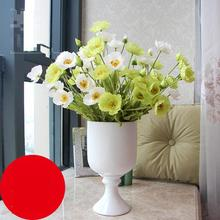 Free Shipping Yu Beauty Small Poppy Garden Style Home Decoration Silk False 60cm Wedding Decorative Artificial Flower