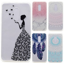 Buy Transparent Phone Cases sFor Fundas Lenovo K6 Note Case Silicone Fresh Slim Soft Back Cover Lenovo K 6 Note Butterfly Girl for $1.27 in AliExpress store