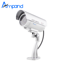 Dome Dummy Fake Surveillance Monitor CCTV Security Simulation Camera Flash(China)