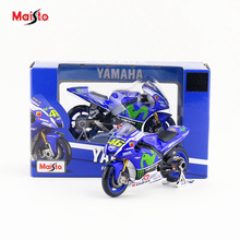 Free Shipping/Maisto Toy/Diecast Metal Motorcycle Model/1:18 Scale/2016 YAMAHA YZR-M1 NO.46 Racing/Educational Collection/Gift