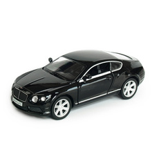 RMZ City Continental GT V8 1:32 Vehicles Alloy Pull Back Car Replica Authorized Original Factory Model Toys Kids Gift collection