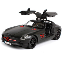 Maisto 1:18 MB SLS AMG Sports Car Diecast Model Car Toy New In Box Free Shipping 36196
