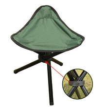 Outdoor Camping Stools Portable Foldable Triangular Stools Small Size Fishing Stools Beach Chairs Garden Stools