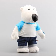 Pororo the Little Penguin Polar Bear 43 CM Poby Soft Stuffed Animals Plush Toy Kids Christmas Gift