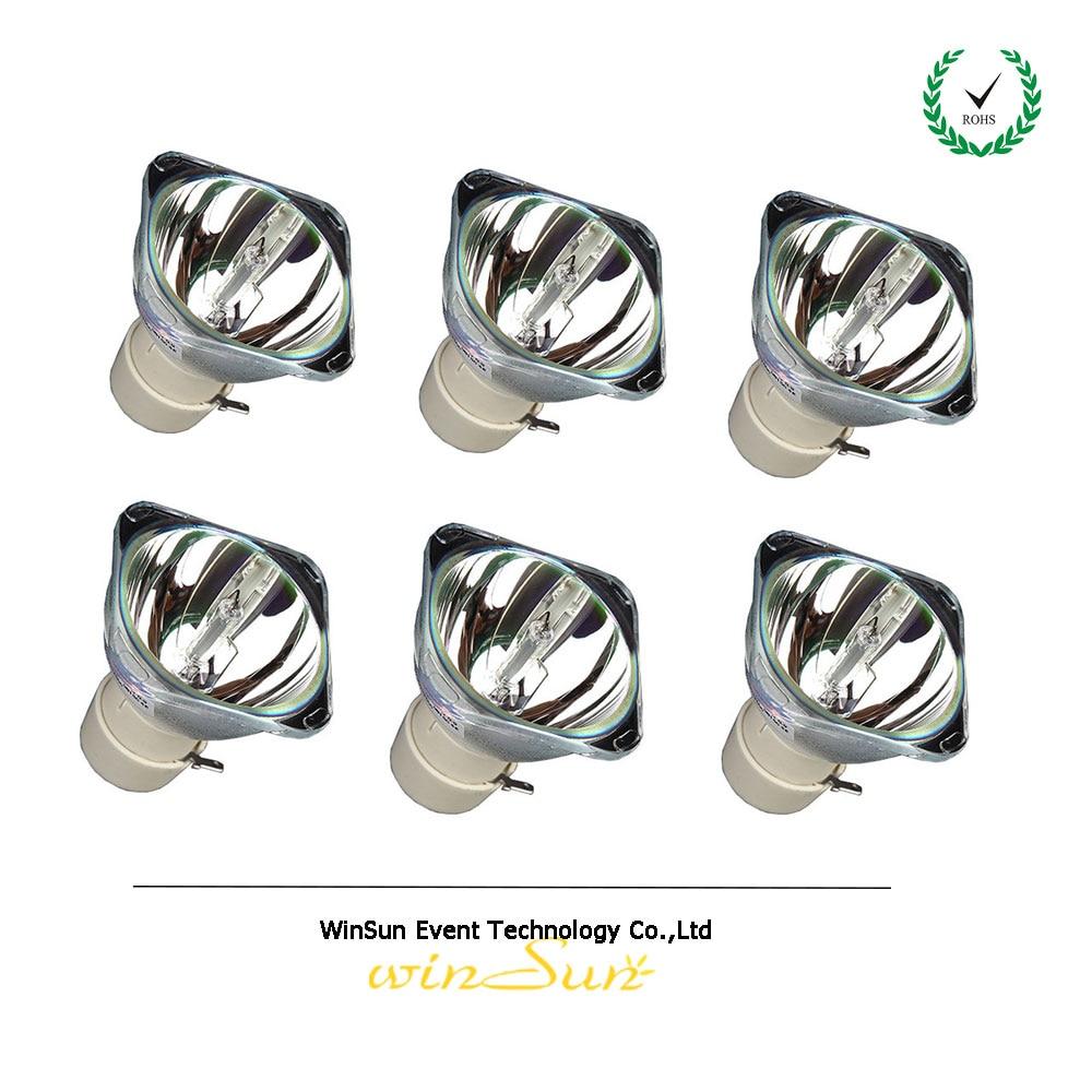 winSune 6pcs/bulk OEM MSD 5R 200w Moving Beam Lamp for Stage Disco Light<br>