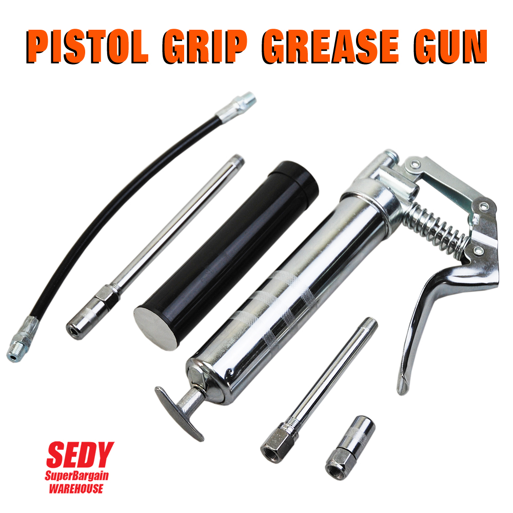 SEDY MINI GREASE GUN (2 WAY) WITH 3OZ 85G CARTRIDGE &amp; ACCESSORIES INDUSTRIAL QUALITY<br><br>Aliexpress