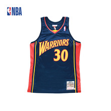 Original NBA Jerseys NO.30 AUTHENTIC PlayerVersion Retro Jerseys Golden State Warriors Curry Men's Breathable Jerseys(China)