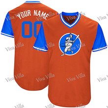 Baseball Jersey Customized Any Name Any Number High Quality Stitched New Baseball Jersey S-3XL Free Shipping(China)