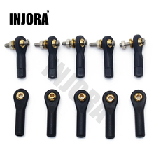 10PCS Plastic M2 M3 Rod End / Ball End / Ball Joint with Screw for RC Boat Airplane RC Car Truck Buggy Crawler(China)