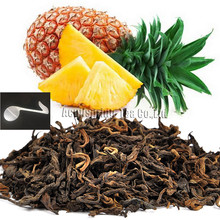 Beautiful Tea strainers+gift Pineapple Flavor Puerh Tea,Fruit flavor Loose Leaf Pu'er,Slimming Ripe Pu-erh,CTX809,