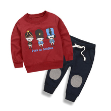 27Kids Baby Boys Girls Autumn Cartoon Car Clothing Sets Toddler Kids Children Long Sleeve Printed Pajamas Clothes Suits 2-10Y