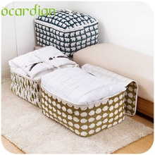 Ocardian garment bag  Foldable Storage Bag Clothes Blanket Quilt Closet Sweater Organizer Box Pouches*30 GIFT 2017*organizer